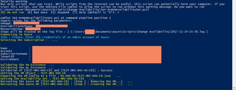 AzureLeap – Azure Virtual Machine – Operational issues