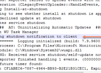 AzureLeap – troubleshoot unexpected shutdown and automatic